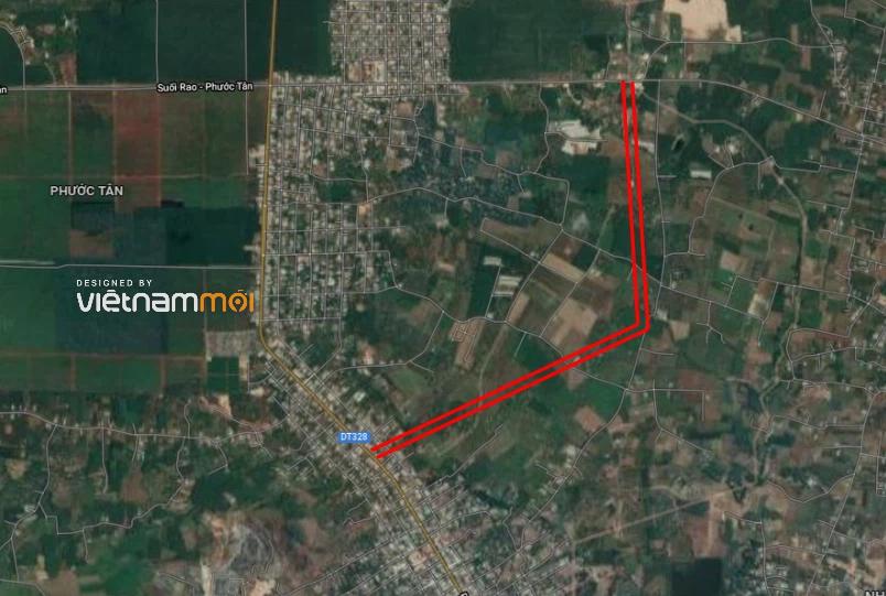 Đường sẽ mở ở xã Phước Tân, huyện Xuyên Mộc, Bà Rịa - Vũng Tàu - Ảnh 3.