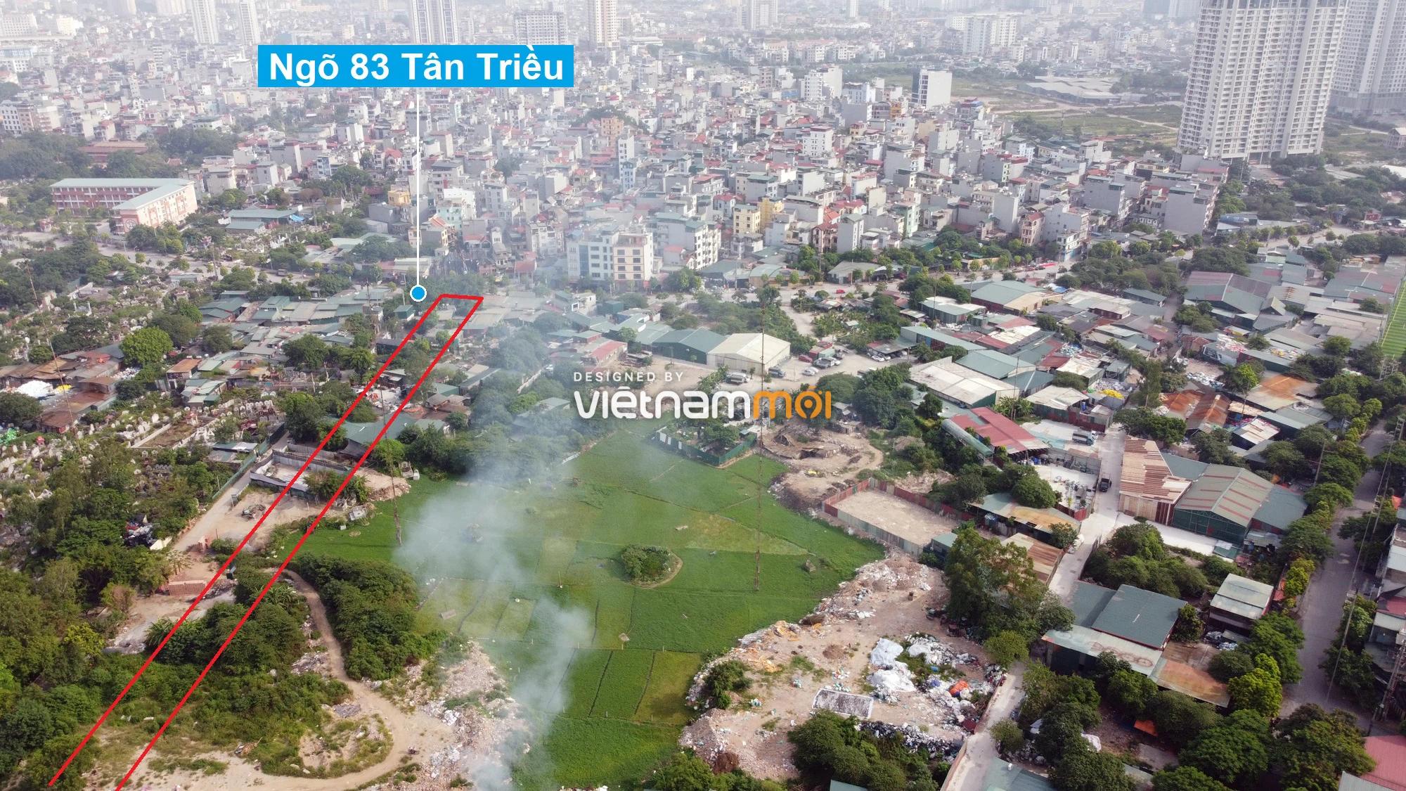 Những khu đất sắp thu hồi để mở đường ở xã Tân Triều, Thanh Trì, Hà Nội (phần 4) - Ảnh 6.
