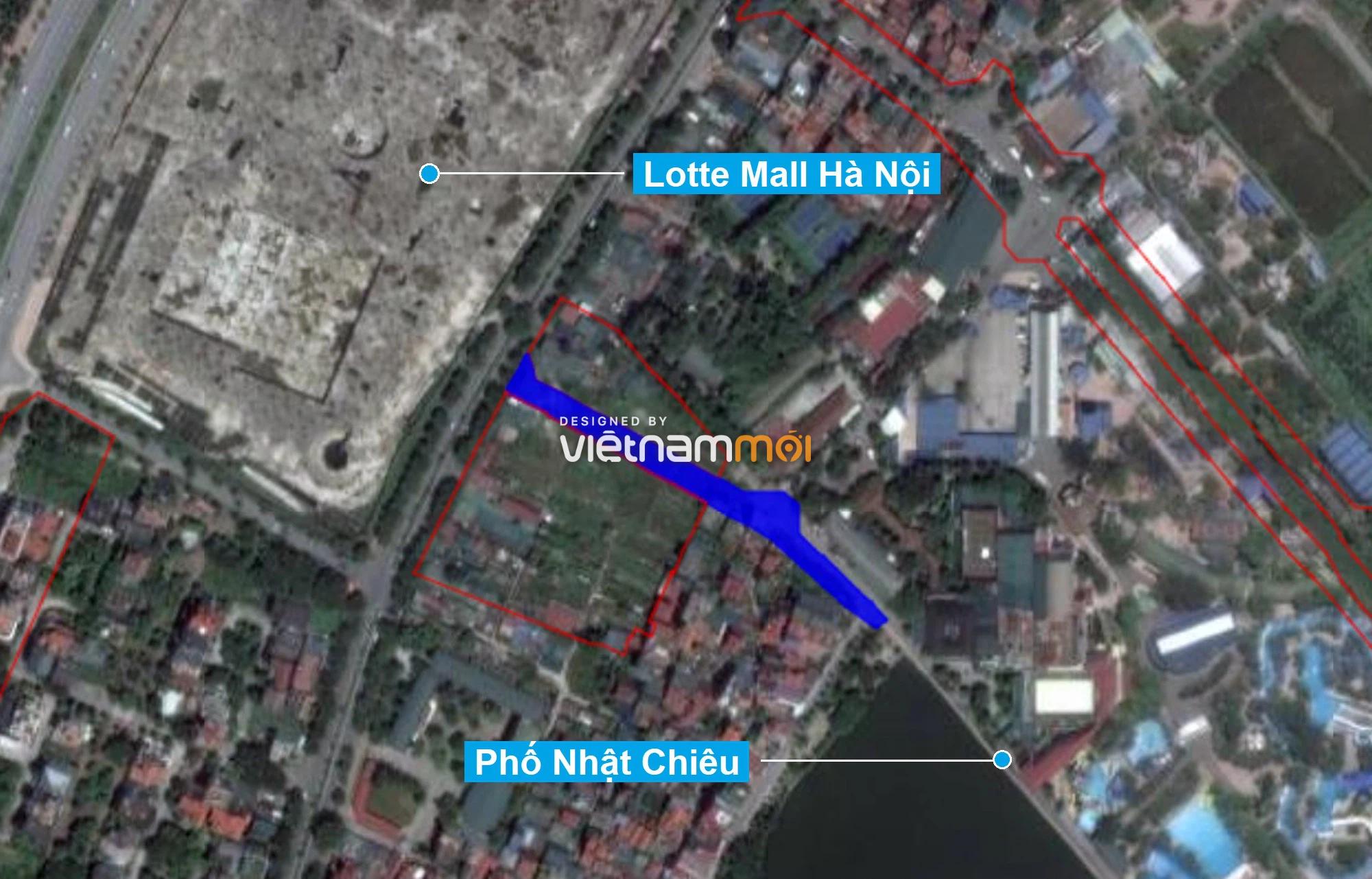 Những khu đất sắp thu hồi để mở đường ở quận Tây Hồ, Hà Nội (phần 3) - Ảnh 2.