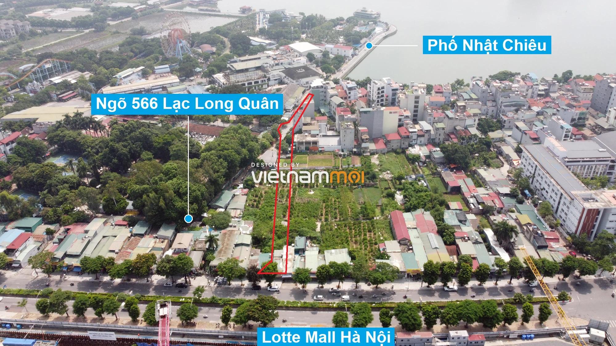 Những khu đất sắp thu hồi để mở đường ở quận Tây Hồ, Hà Nội (phần 3) - Ảnh 5.