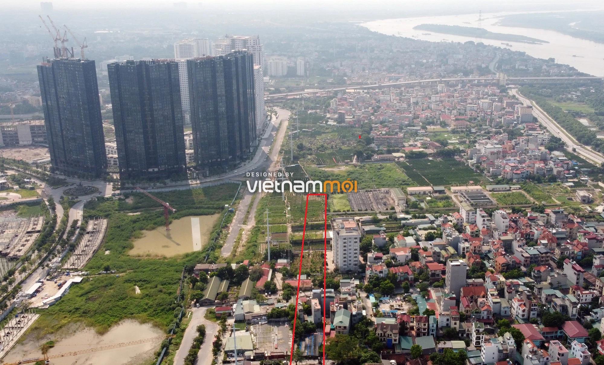 Những khu đất sắp thu hồi để mở đường ở quận Tây Hồ, Hà Nội (phần 3) - Ảnh 12.