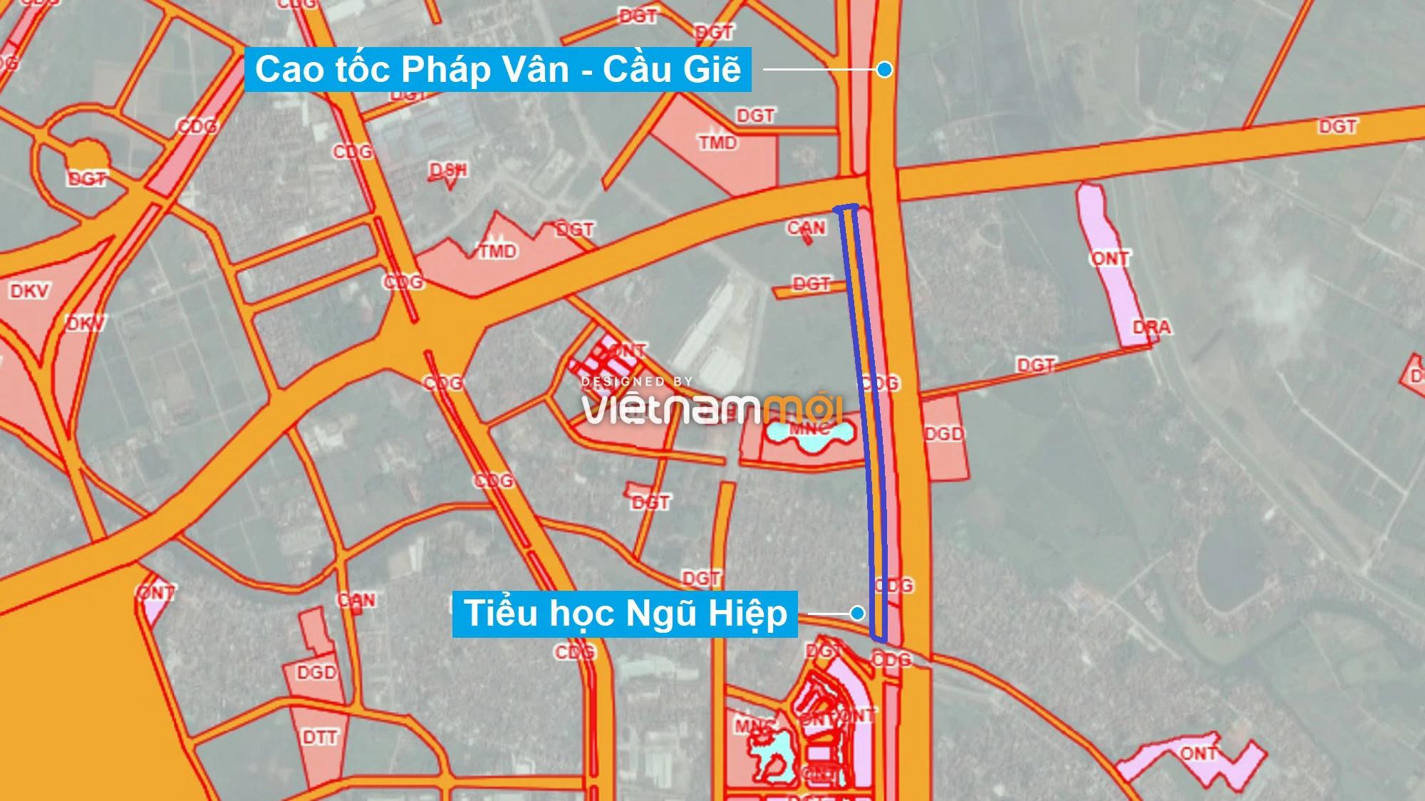 Những khu đất sắp thu hồi để mở đường ở xã Ngũ Hiệp, Thanh Trì, Hà Nội (phần 2) - Ảnh 1.