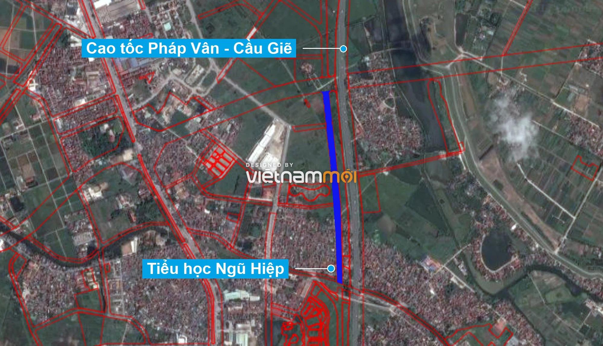 Những khu đất sắp thu hồi để mở đường ở xã Ngũ Hiệp, Thanh Trì, Hà Nội (phần 2) - Ảnh 2.