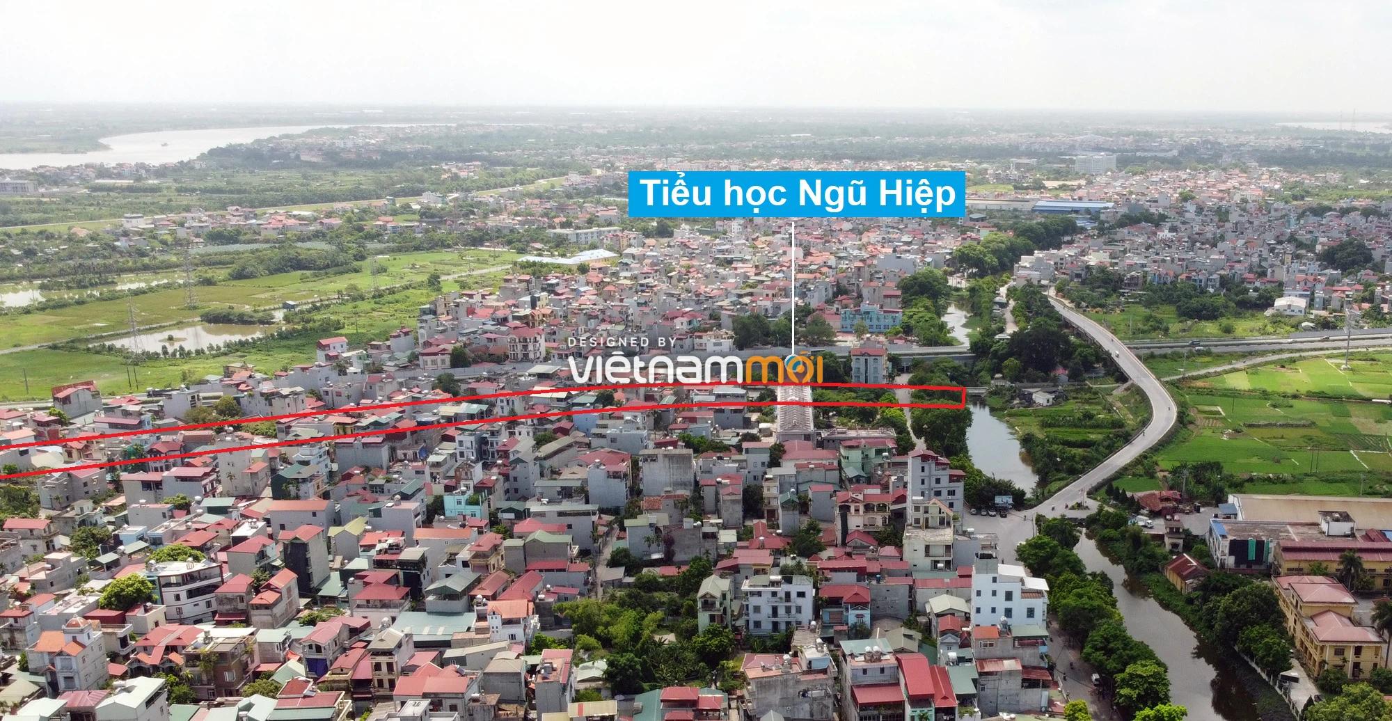 Những khu đất sắp thu hồi để mở đường ở xã Ngũ Hiệp, Thanh Trì, Hà Nội (phần 2) - Ảnh 5.