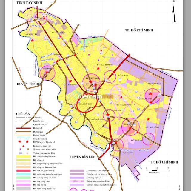 Đất có quy hoạch ở huyện Đức Hòa, tỉnh Long An - Ảnh 2.
