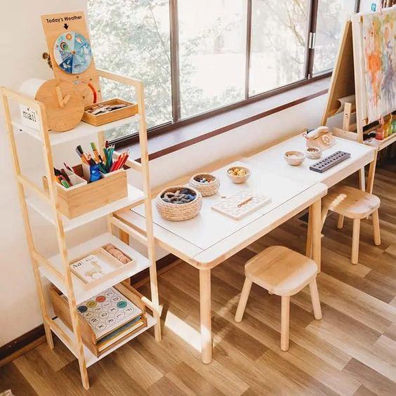 Tham khảo cách thiết kế góc học tập cho bé tại nhà đẹp và sáng tạo - Ảnh 1.
