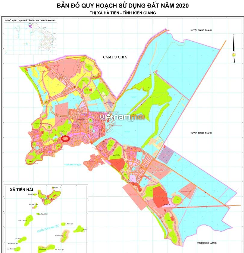 Đất có quy hoạch ở thành phố Hà Tiên, tỉnh Kiên Giang - Ảnh 2.