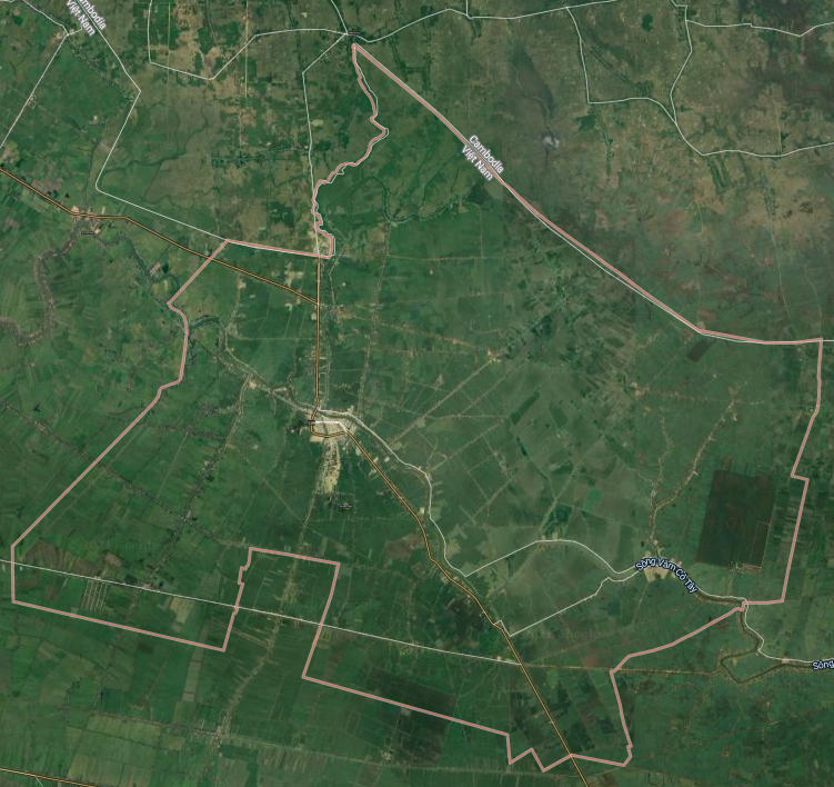 Bản đồ quy hoạch sử dụng đất huyện Mộc Hóa, tỉnh Long An - Ảnh 1.
