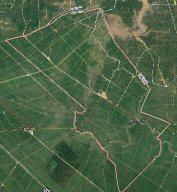 Bản đồ quy hoạch sử dụng đất huyện Vĩnh Hưng, tỉnh Long An - Ảnh 1.