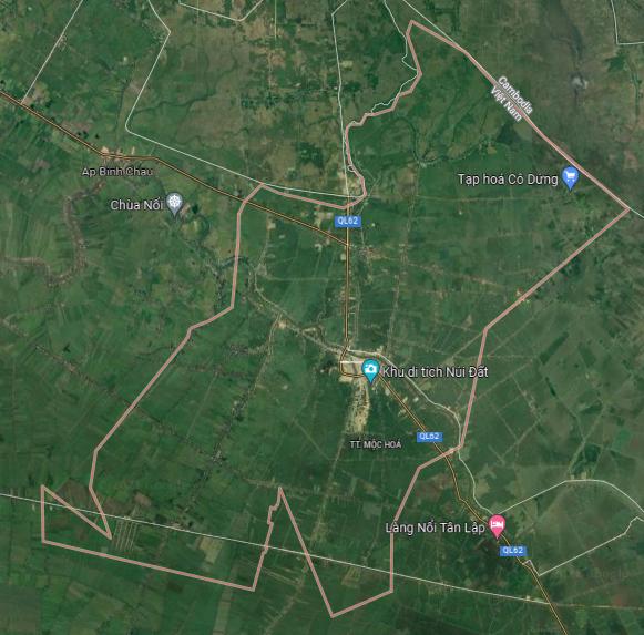 Bản đồ quy hoạch sử dụng đất thị xã Kiến Tường, tỉnh Long An - Ảnh 1.