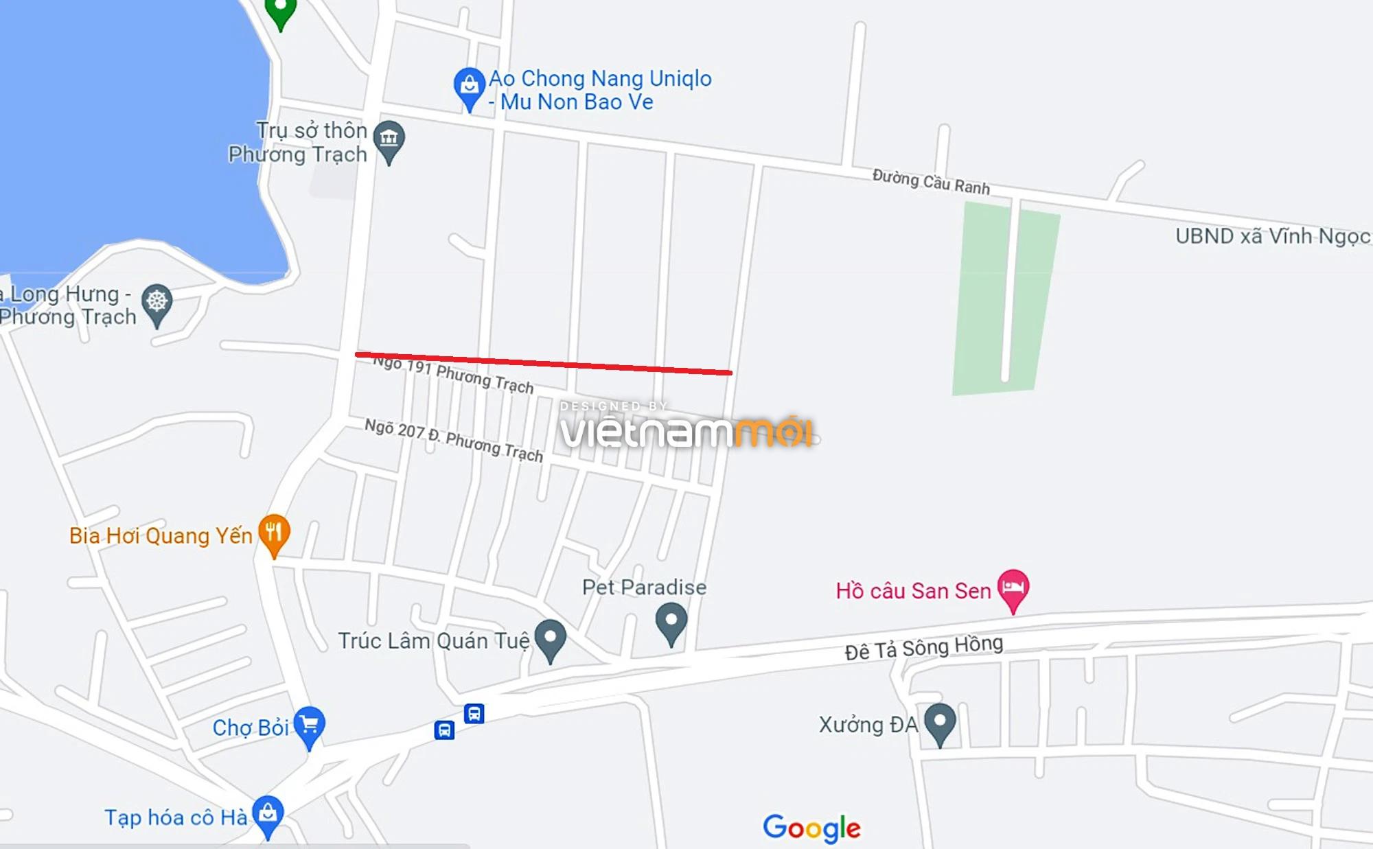 Đường sẽ mở theo quy hoạch xung quanh dự án Thành phố Thông minh Bắc Hà Nội (phần 4) - Ảnh 1.
