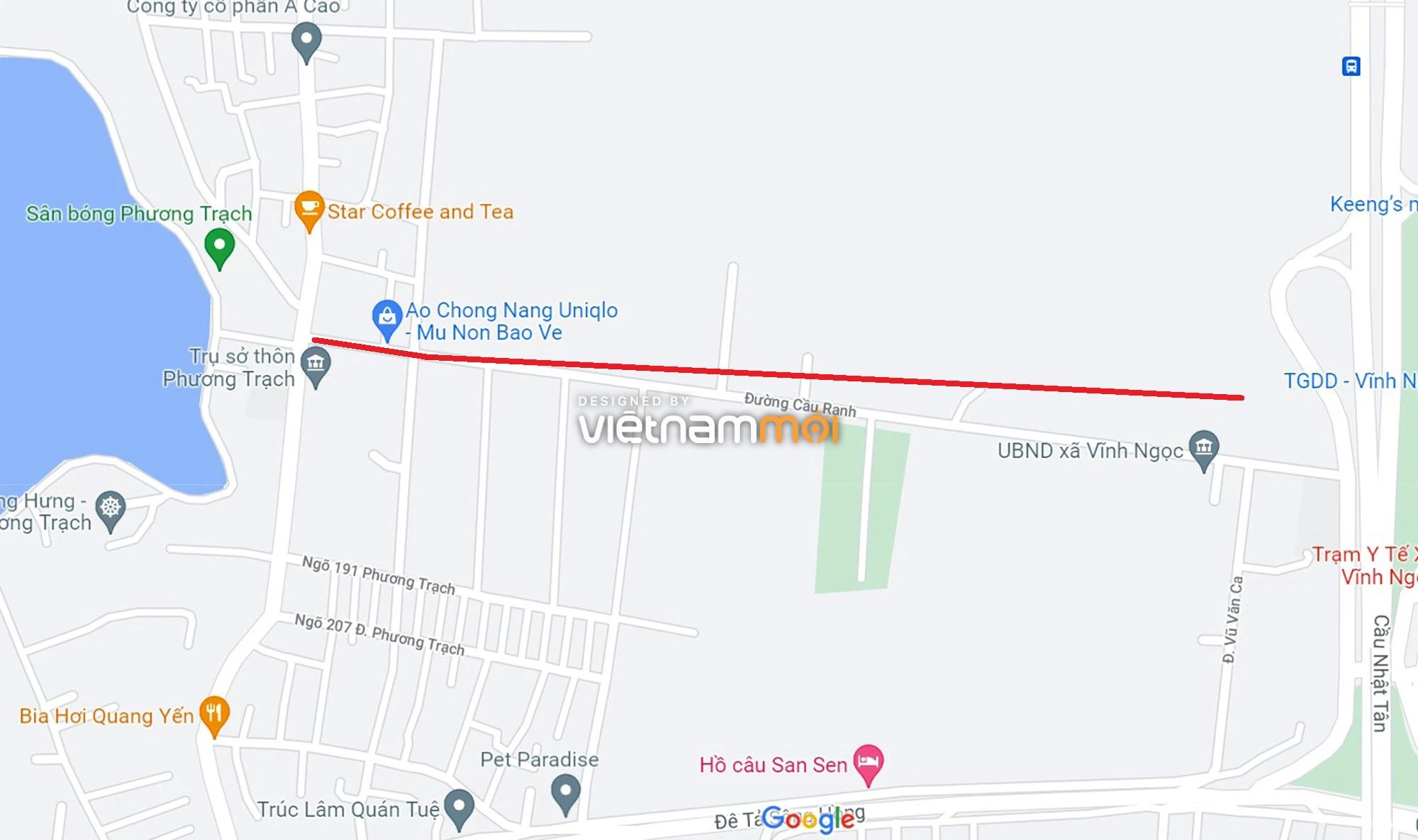 Đường sẽ mở theo quy hoạch xung quanh dự án Thành phố Thông minh Bắc Hà Nội (phần 4) - Ảnh 5.
