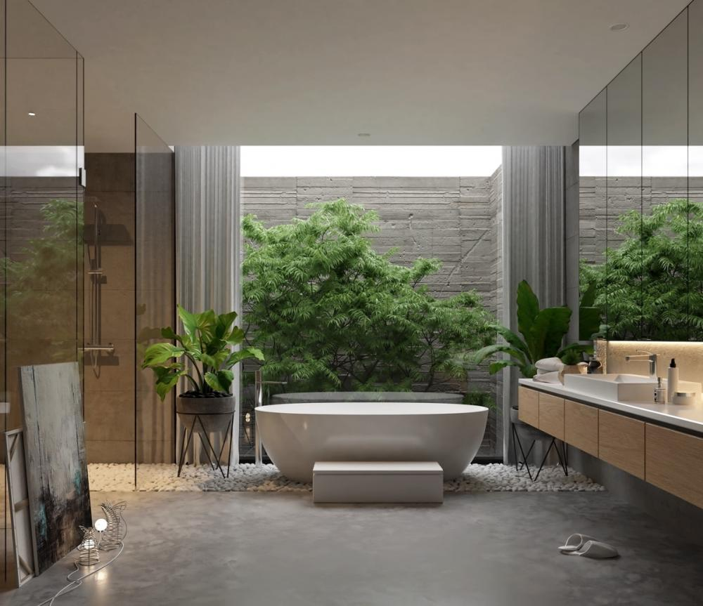 Top 3 xu hướng thiết kế phòng tắm 2021 đặc biệt ấn tượng - Ảnh 8.