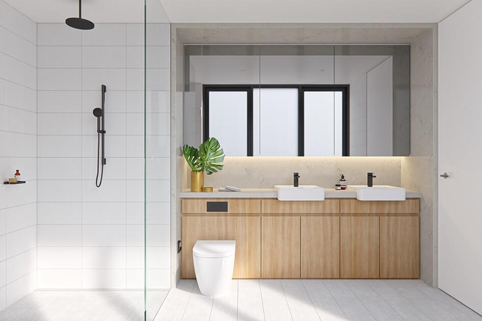 Top 3 xu hướng thiết kế phòng tắm 2021 đặc biệt ấn tượng - Ảnh 2.