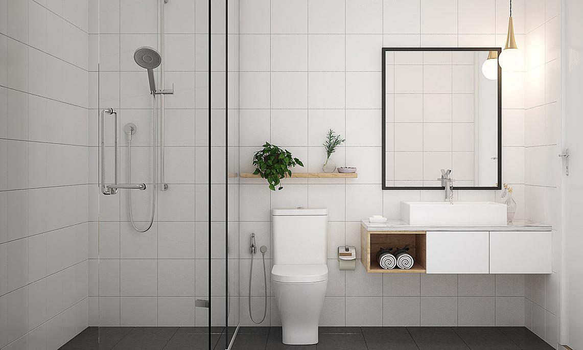 Top 3 xu hướng thiết kế phòng tắm 2021 đặc biệt ấn tượng - Ảnh 1.