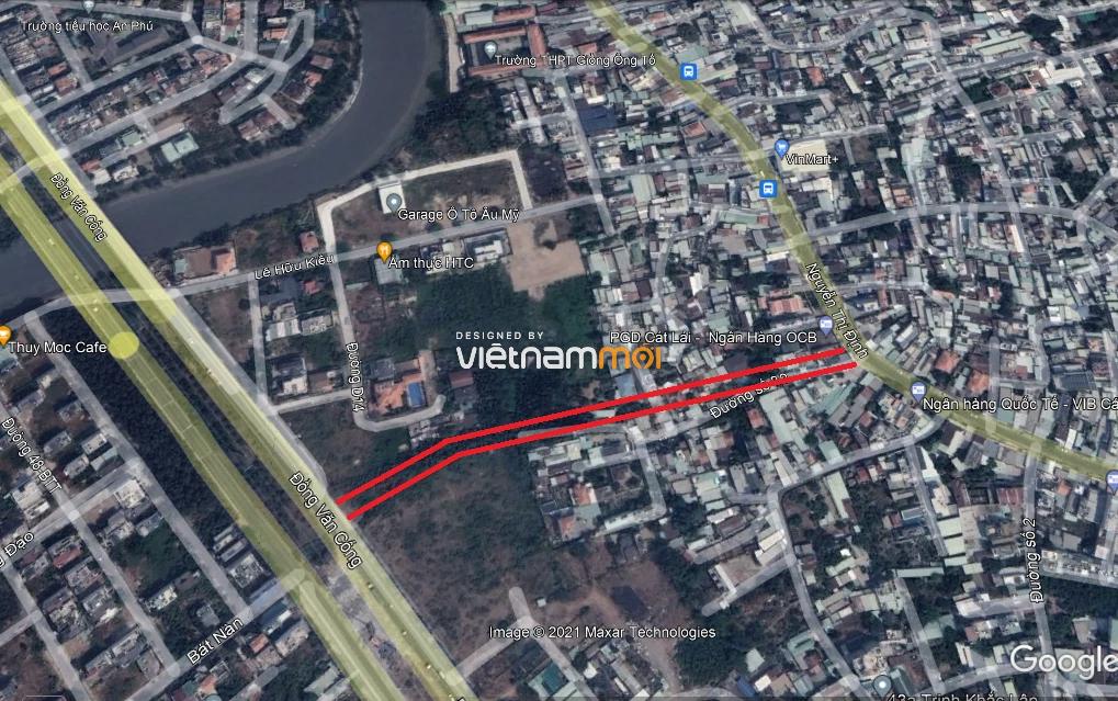 Đường sẽ mở theo quy hoạch ở phường Bình Trưng Tây, quận 2, Thủ Đức, TP HCM (phần 3) - Ảnh 2.