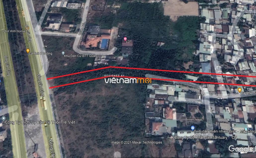 Đường sẽ mở theo quy hoạch ở phường Bình Trưng Tây, quận 2, Thủ Đức, TP HCM (phần 3) - Ảnh 3.