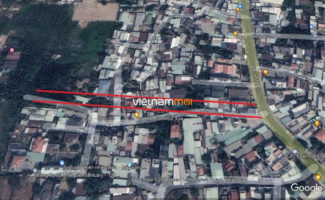 Đường sẽ mở theo quy hoạch ở phường Bình Trưng Tây, quận 2, Thủ Đức, TP HCM (phần 3) - Ảnh 4.