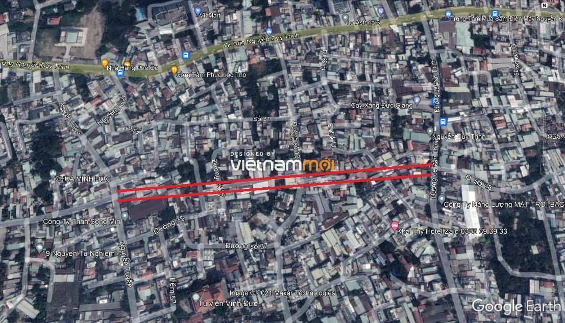 Đường sẽ mở theo quy hoạch ở phường Bình Trưng Tây, quận 2, Thủ Đức, TP HCM (phần 3) - Ảnh 6.