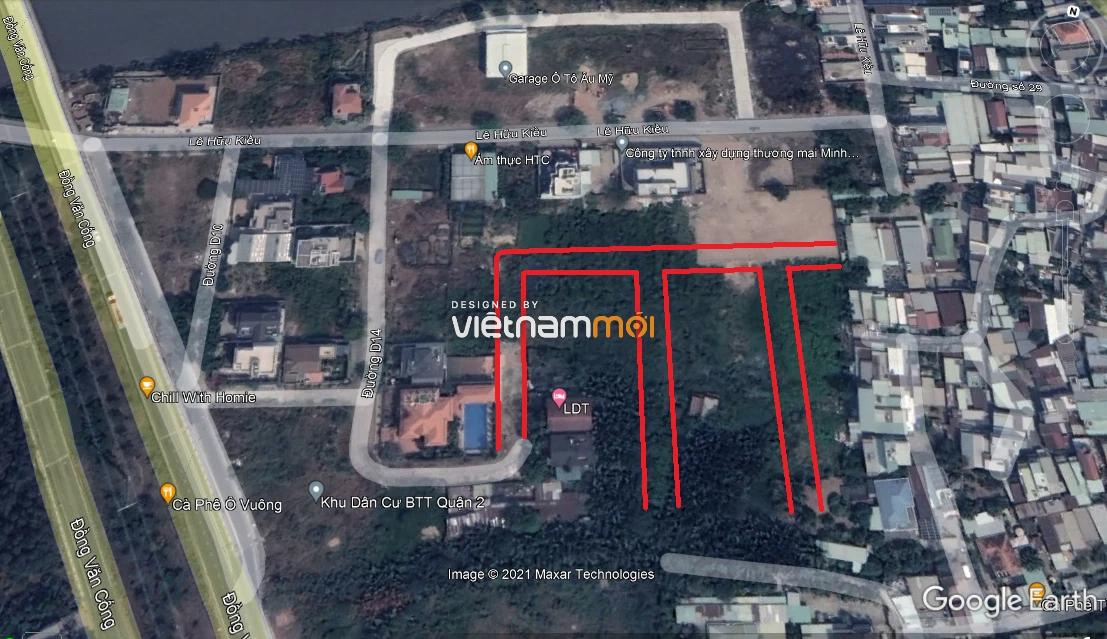 Đường sẽ mở theo quy hoạch ở phường Bình Trưng Tây, quận 2, Thủ Đức, TP HCM (phần 3) - Ảnh 9.