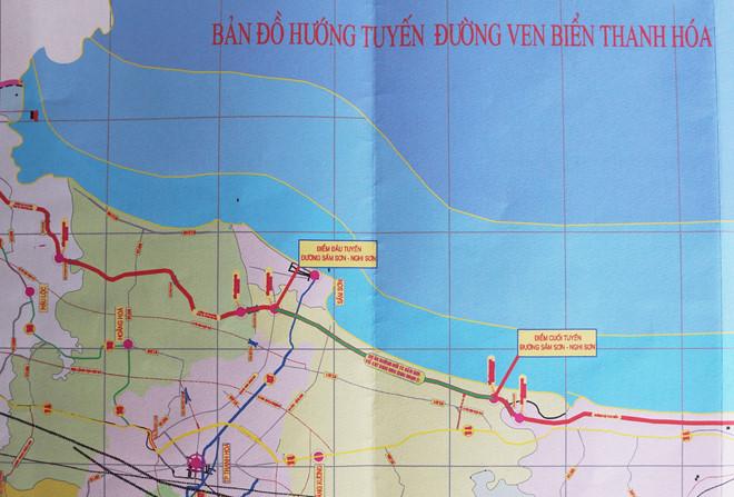 Vinaconex, Trung Nam và Xây dựng Miền Trung cạnh tranh dự án đường bộ ven biển Thanh Hóa gần 3.400 tỷ đồng - Ảnh 1.