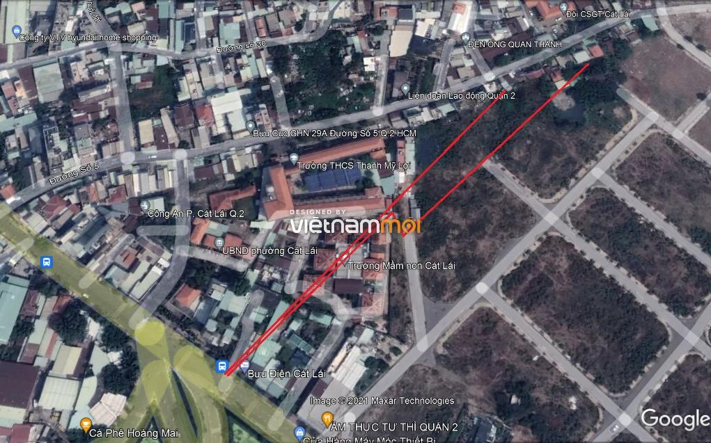 Đường sẽ mở theo quy hoạch ở phường Cát Lái, quận 2, Thủ Đức, TP HCM  - Ảnh 4.
