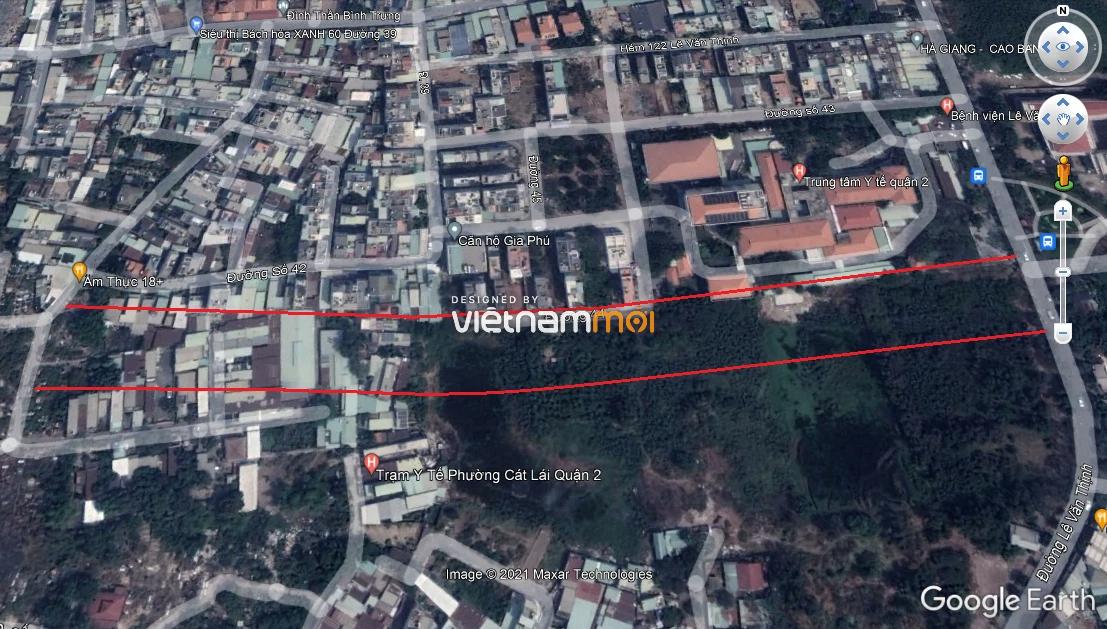 Đường sẽ mở theo quy hoạch ở phường Cát Lái, quận 2, Thủ Đức, TP HCM  - Ảnh 7.
