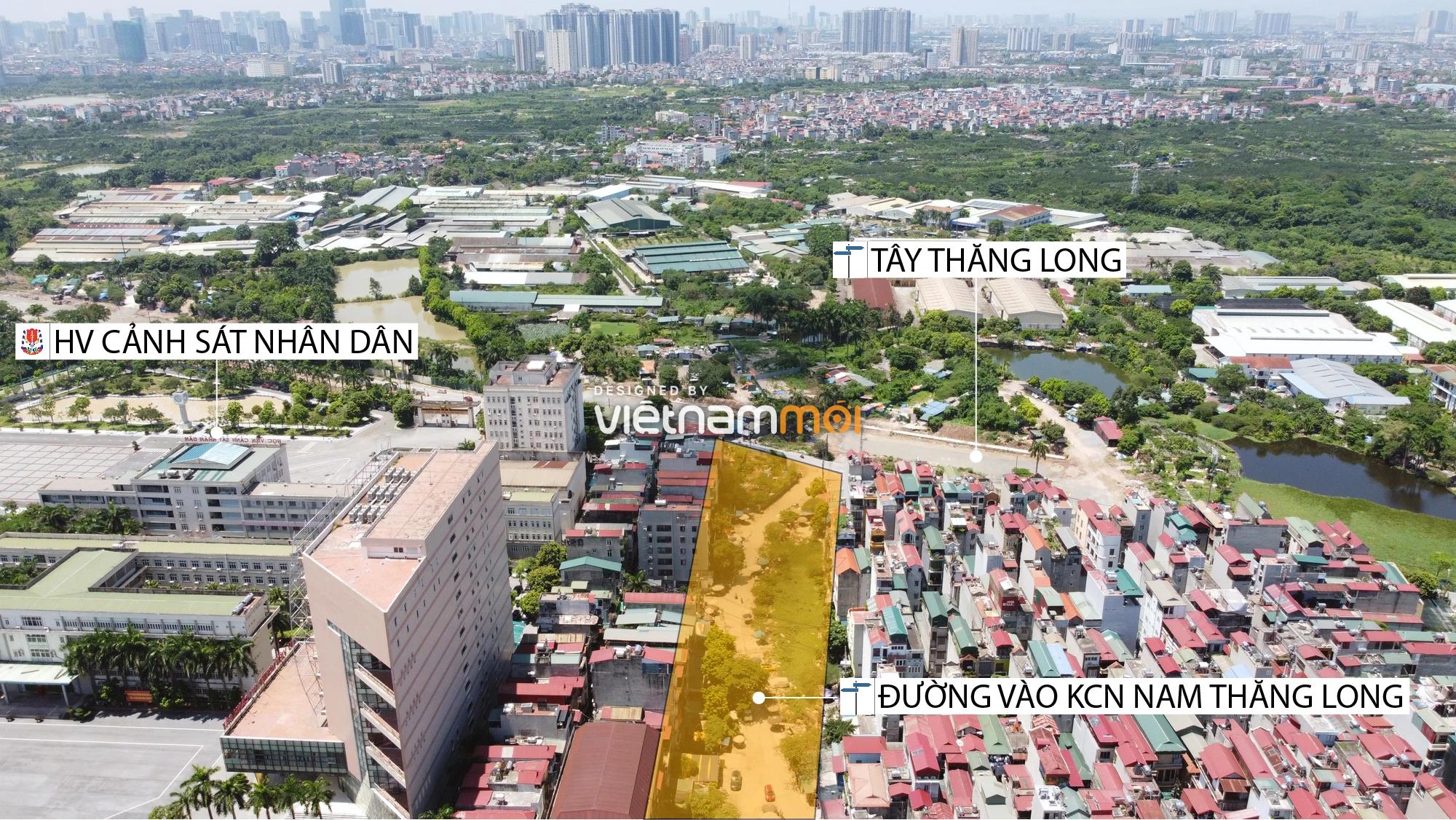 Chuyển động mới ở dự án đường vào KCN Nam Thăng Long, Bắc Từ Liêm, Hà Nội - Ảnh 1.