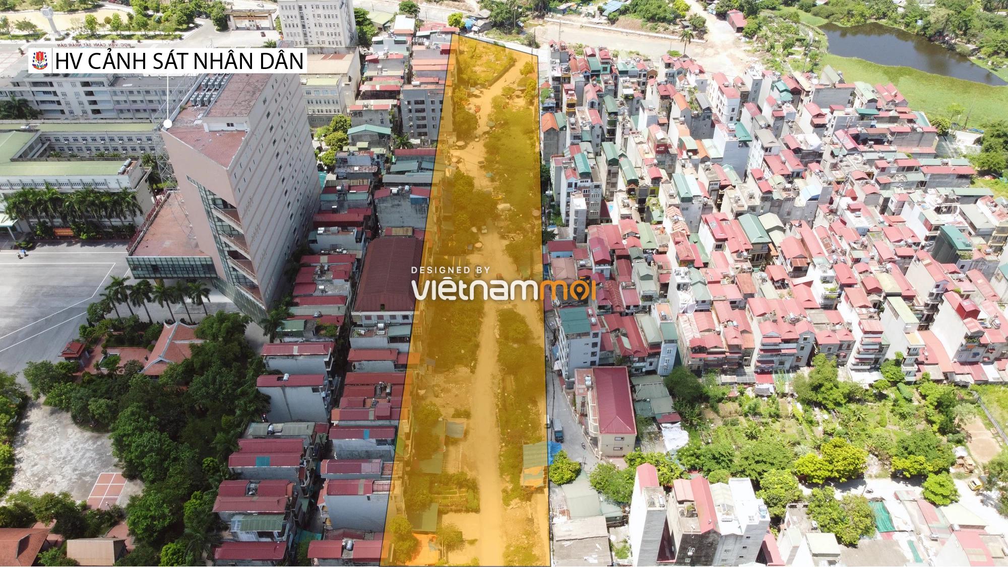 Chuyển động mới ở dự án đường vào KCN Nam Thăng Long, Bắc Từ Liêm, Hà Nội - Ảnh 2.