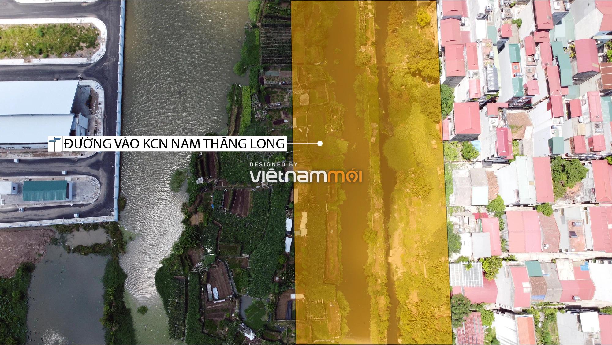 Chuyển động mới ở dự án đường vào KCN Nam Thăng Long, Bắc Từ Liêm, Hà Nội - Ảnh 6.