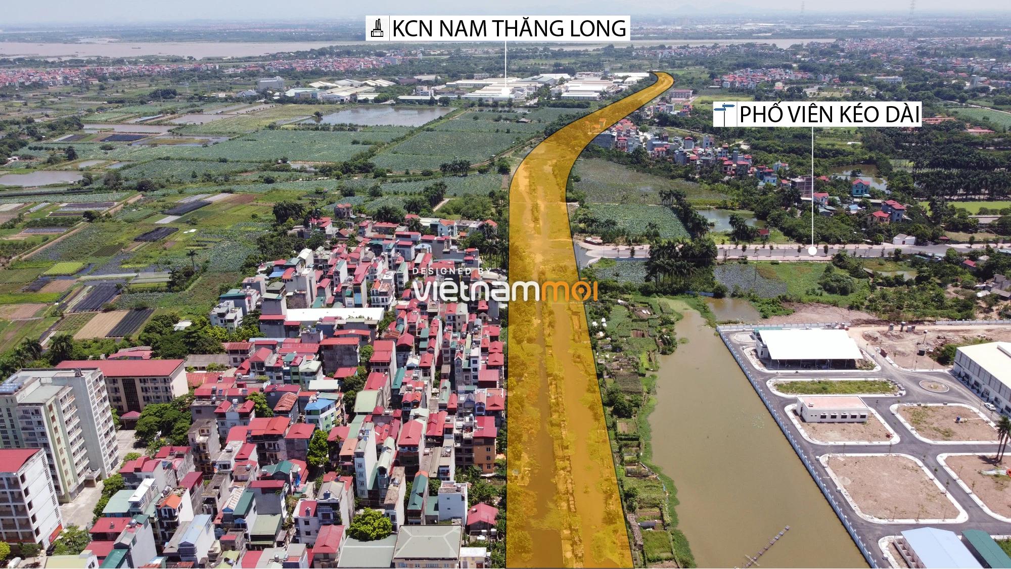 Chuyển động mới ở dự án đường vào KCN Nam Thăng Long, Bắc Từ Liêm, Hà Nội - Ảnh 7.