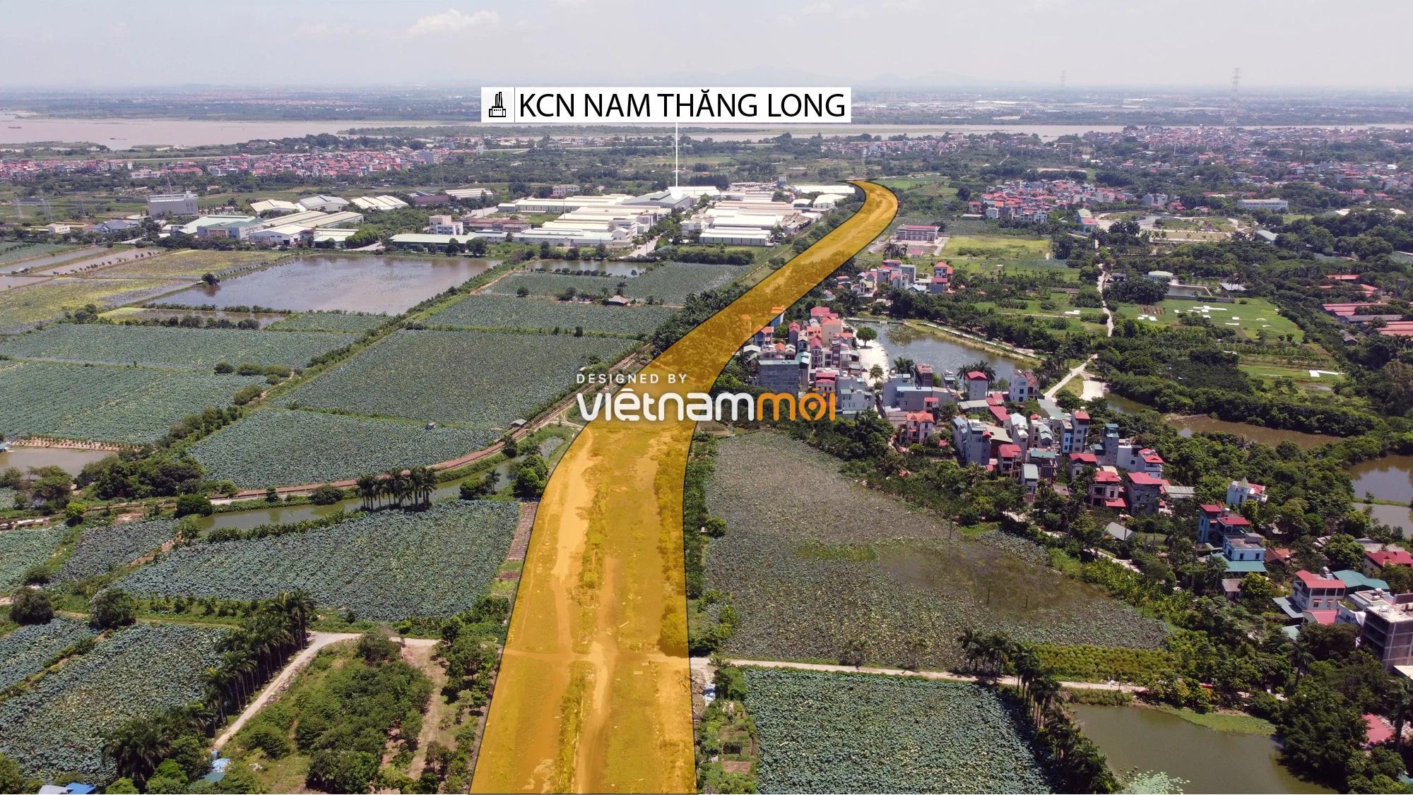 Chuyển động mới ở dự án đường vào KCN Nam Thăng Long, Bắc Từ Liêm, Hà Nội - Ảnh 8.