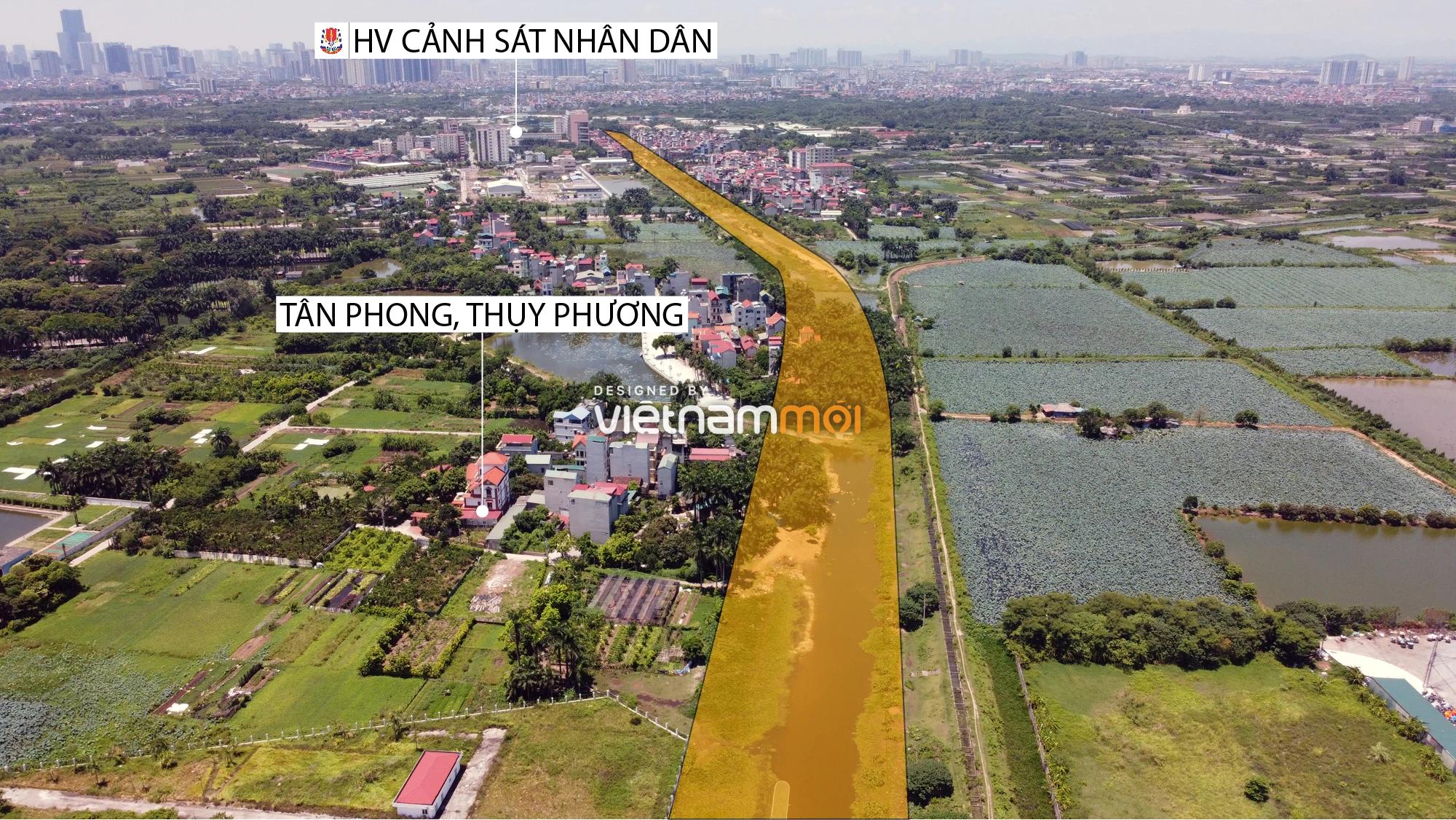 Chuyển động mới ở dự án đường vào KCN Nam Thăng Long, Bắc Từ Liêm, Hà Nội - Ảnh 12.