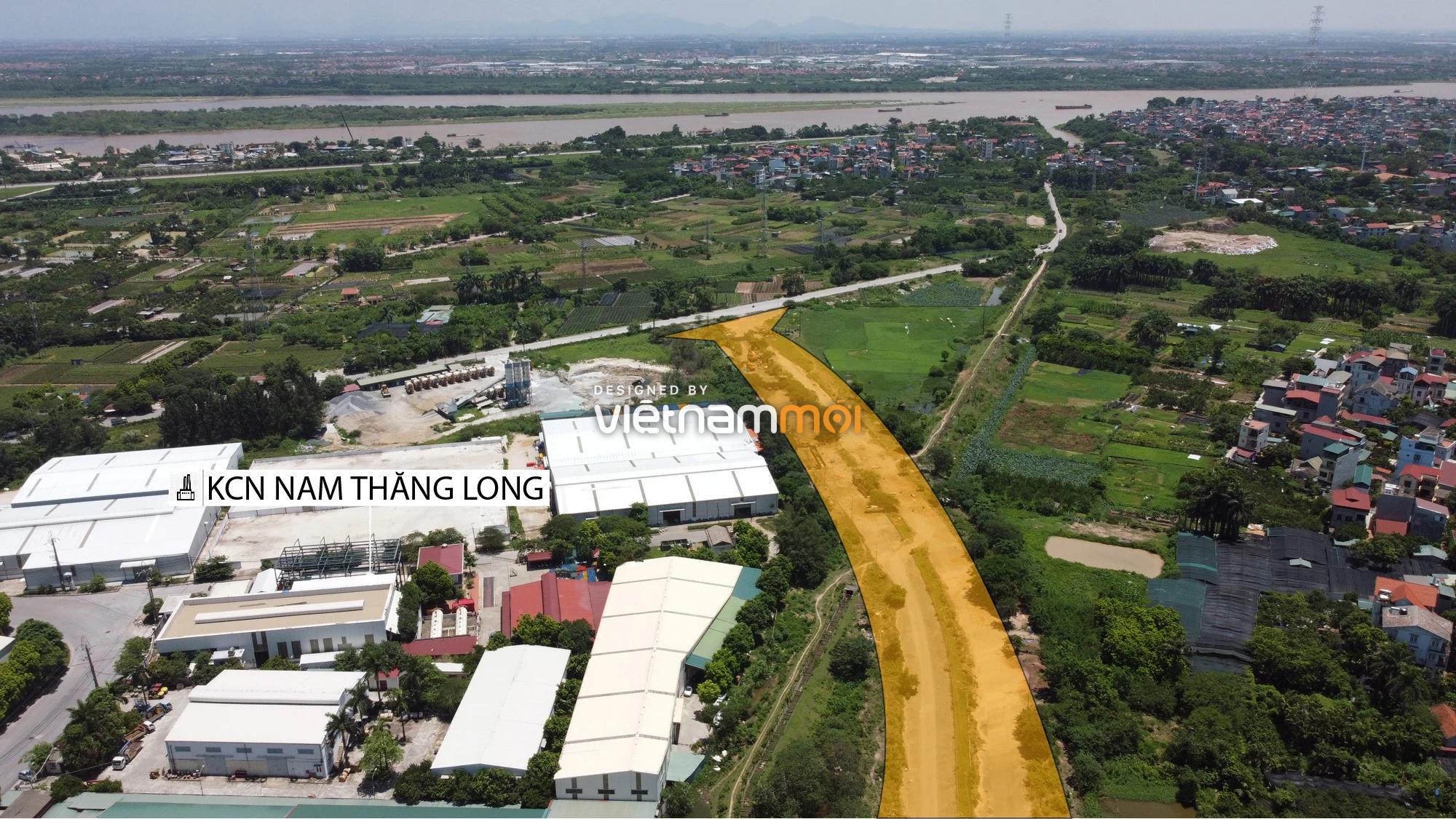 Chuyển động mới ở dự án đường vào KCN Nam Thăng Long, Bắc Từ Liêm, Hà Nội - Ảnh 13.