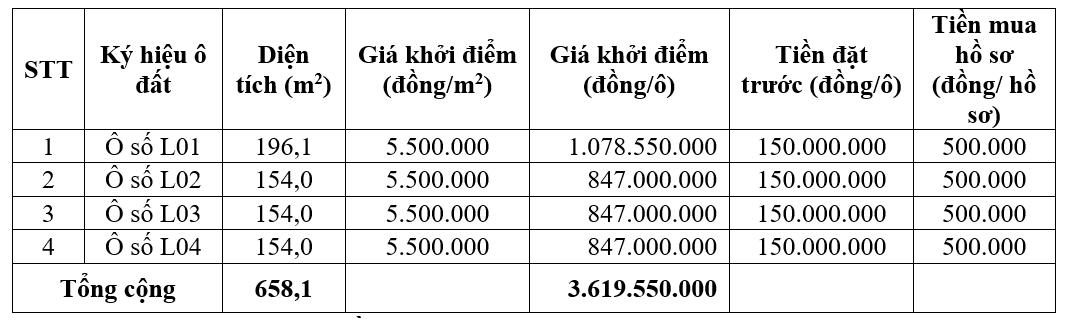 Phú Thọ sắp đấu giá 9 ô đất tại huyện Cẩm Khê, khởi điểm từ 847 triệu đồng/ô - Ảnh 1.