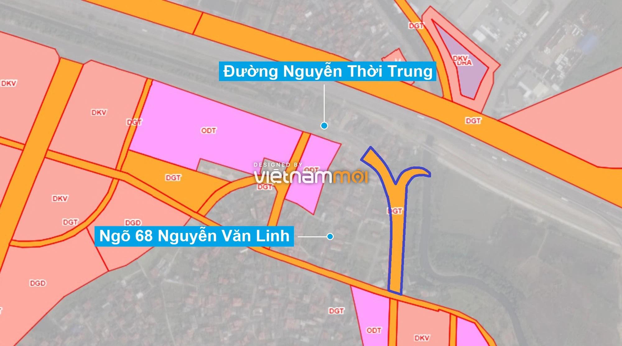 Những khu đất sắp thu hồi để mở đường ở phường Thạch Bàn, Long Biên, Hà Nội (phần 6) - Ảnh 1.