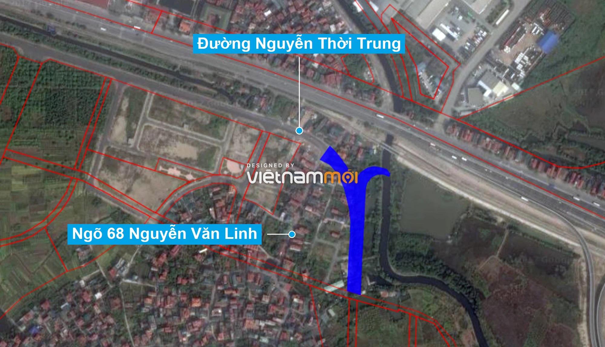 Những khu đất sắp thu hồi để mở đường ở phường Thạch Bàn, Long Biên, Hà Nội (phần 6) - Ảnh 2.