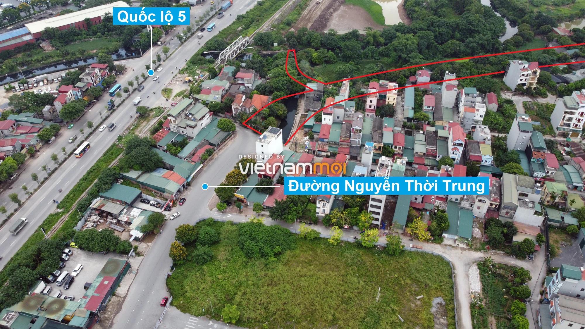 Những khu đất sắp thu hồi để mở đường ở phường Thạch Bàn, Long Biên, Hà Nội (phần 6) - Ảnh 3.
