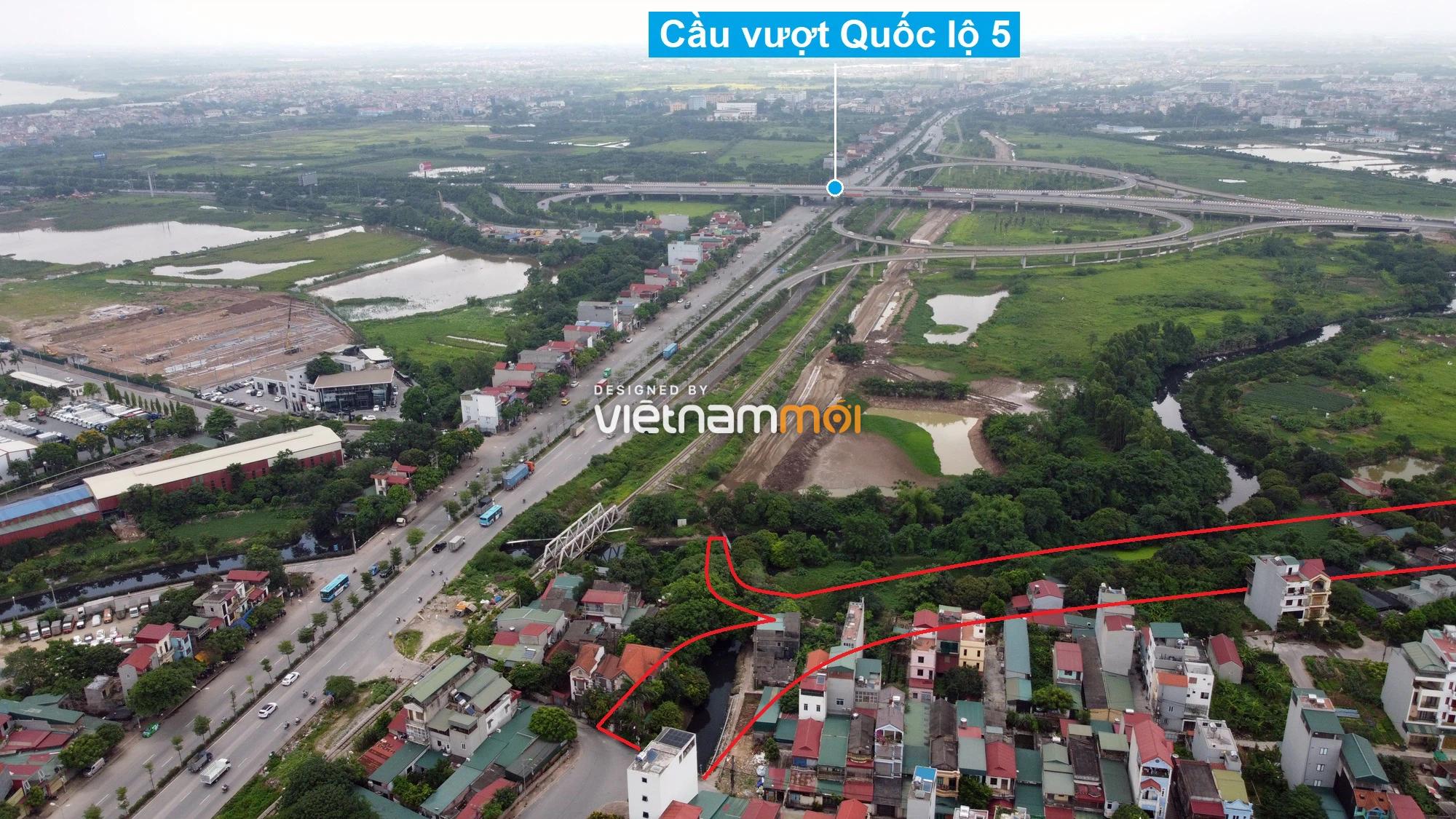Những khu đất sắp thu hồi để mở đường ở phường Thạch Bàn, Long Biên, Hà Nội (phần 6) - Ảnh 4.