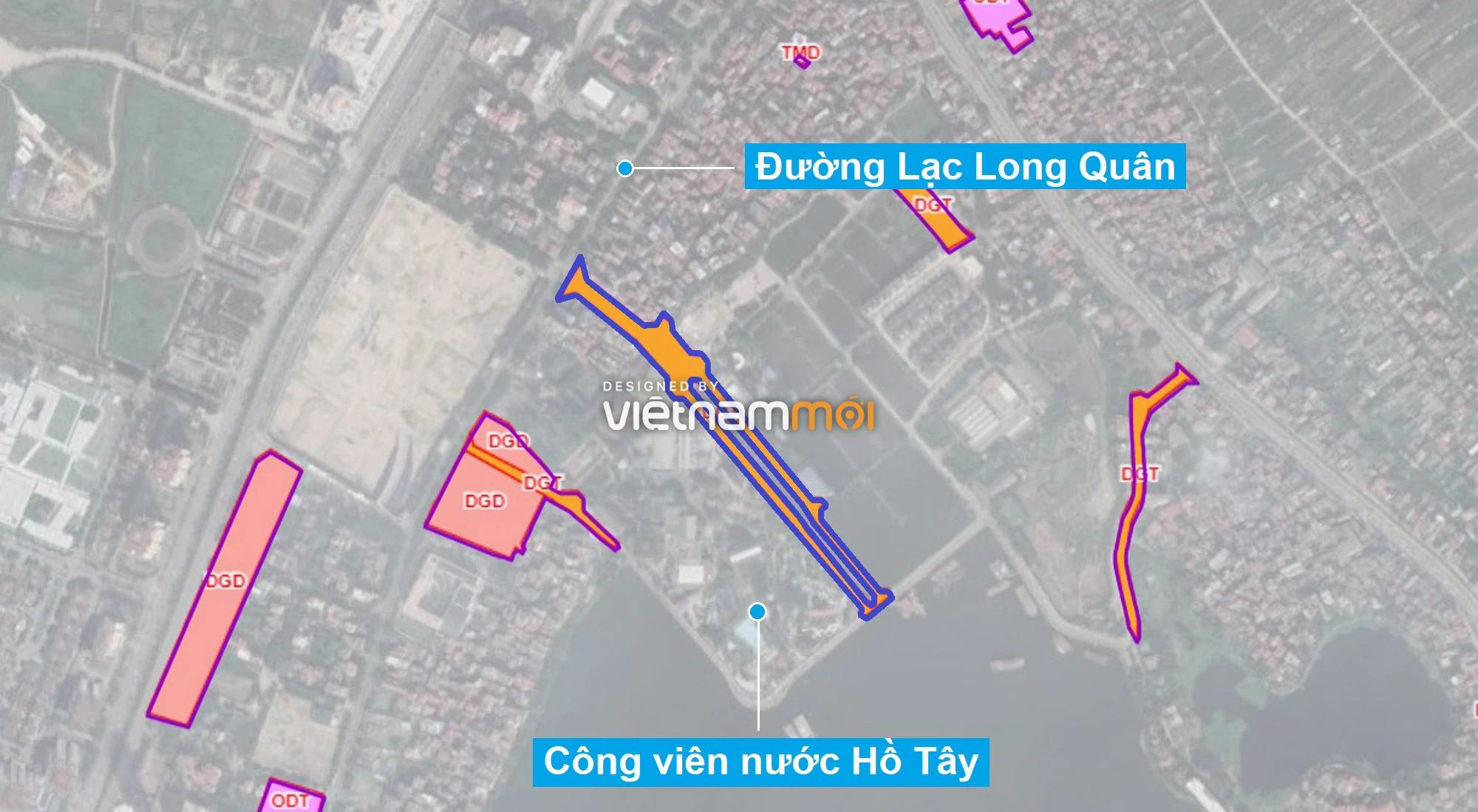 Những khu đất sắp thu hồi để mở đường ở quận Tây Hồ, Hà Nội (phần 2) - Ảnh 7.