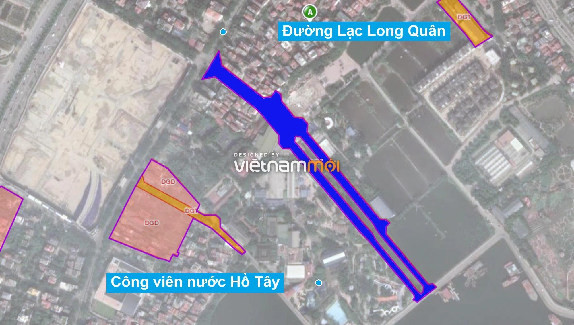 Những khu đất sắp thu hồi để mở đường ở quận Tây Hồ, Hà Nội (phần 2) - Ảnh 8.