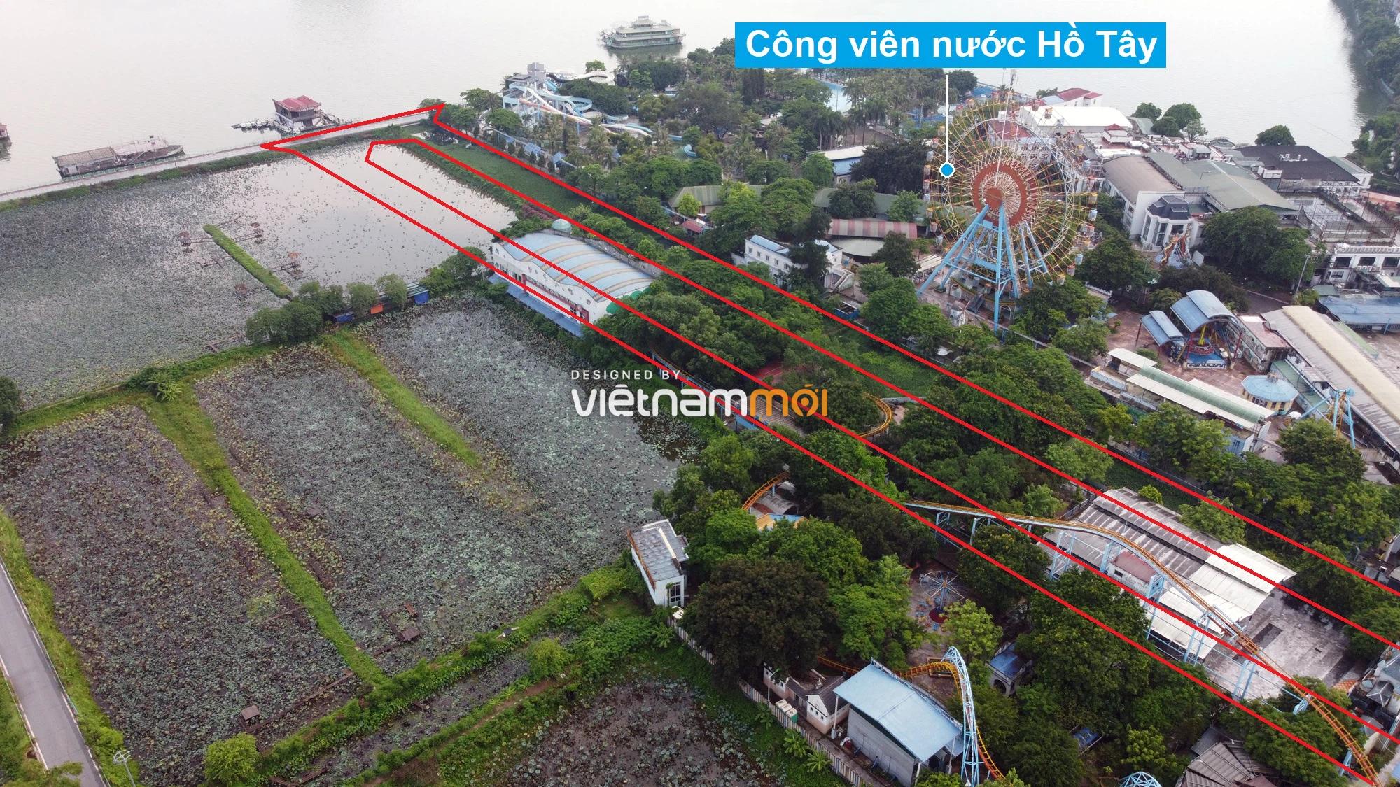 Những khu đất sắp thu hồi để mở đường ở quận Tây Hồ, Hà Nội (phần 2) - Ảnh 11.