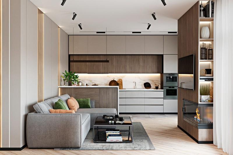 Thiết kế đẹp mắt của căn hộ có 2 phòng ngủ - Ảnh 1.