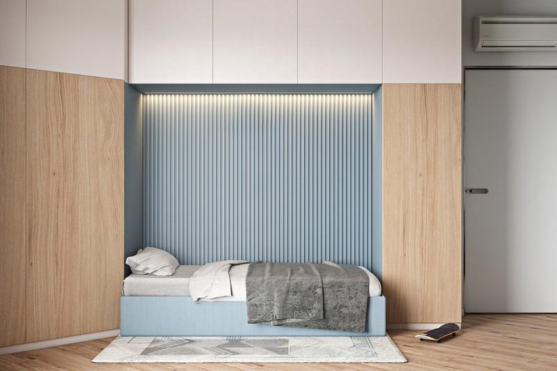 Thiết kế đẹp mắt của căn hộ có 2 phòng ngủ - Ảnh 11.
