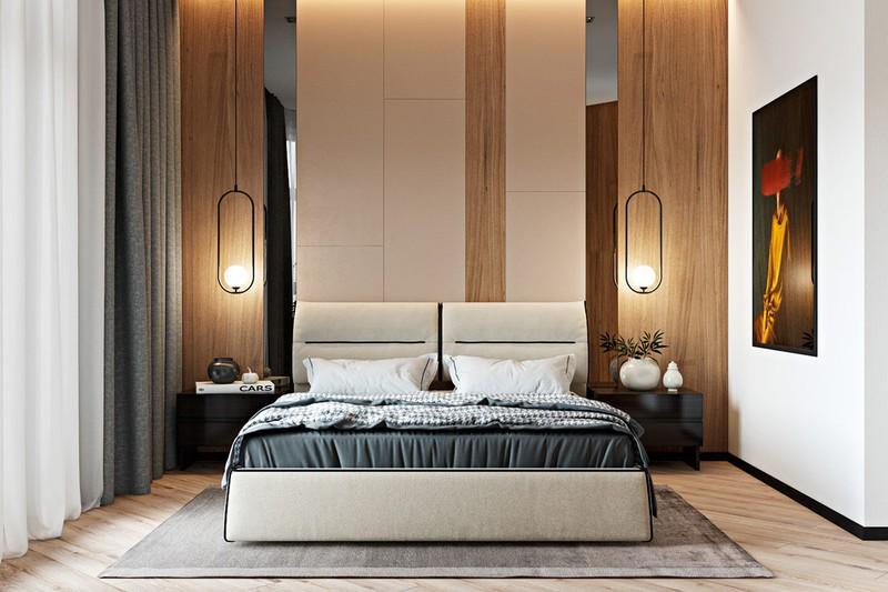 Thiết kế đẹp mắt của căn hộ có 2 phòng ngủ - Ảnh 7.