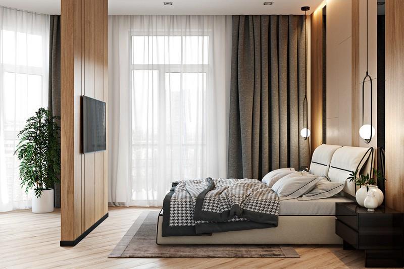 Thiết kế đẹp mắt của căn hộ có 2 phòng ngủ - Ảnh 8.