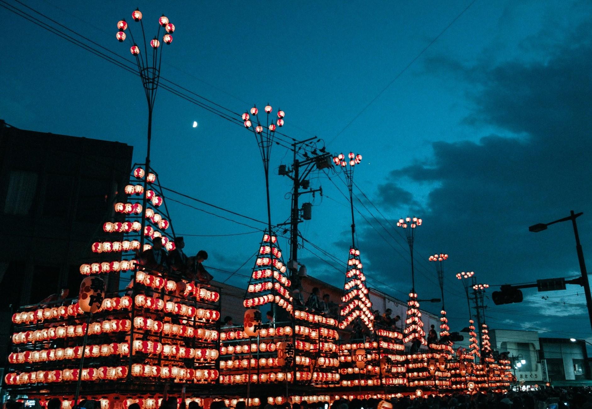 Chiêm ngưỡng lễ hội đèn lồng 350 tuổi ở Nhật Bản - Ảnh 6.