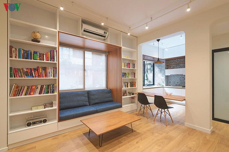 Cải tạo căn hộ cũ thành không gian sống đẹp - Ảnh 1.