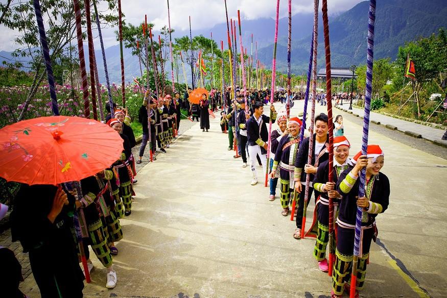 sắc màu văn hóa Tây Bắc tại Sun world Fansipan Legend