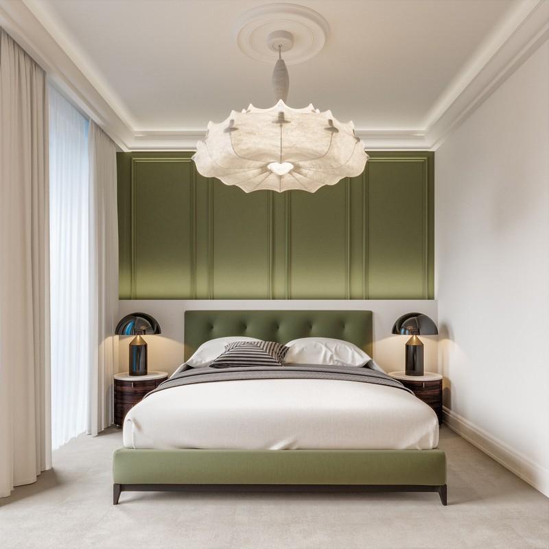 Trang trí phòng khách màu xanh căng tràn sức sống - Ảnh 3.